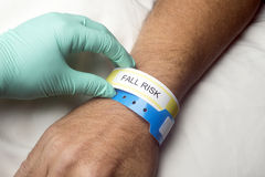 Fall Risk Stock Photo