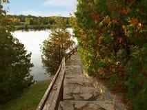 Fall River Stock Afbeeldingen