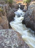 Fall River absolutism Royaltyfria Bilder