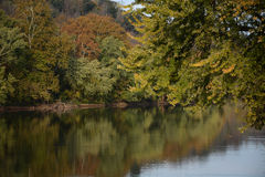 Fall-River Ansicht Stockfoto