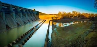 Fall River delstatspark Kansas Fotografering för Bildbyråer