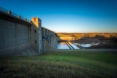 Fall River delstatspark Kansas arkivfoton