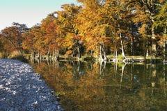 Fall River reflexioner Royaltyfri Bild