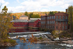 Fall River Scene Stock Photo