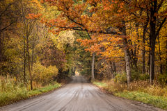 Fall Road Stock Photos