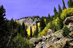 Fall In The Rocky Mountains Stock Photo