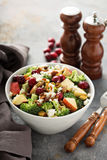 Fall salad with apple and cranberry Stock Photo
