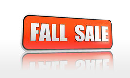 Fall sale banner Royalty Free Stock Photo
