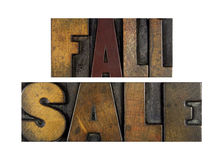 Fall Sale Stock Images