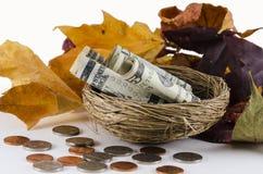 Fall Savings Stock Photography