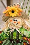 Fall Scarecrow Decoration Royalty Free Stock Photo
