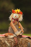 Fall Scarecrow Doll Royalty Free Stock Photo