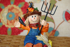 Fall Scarecrow Farmer Stock Photography