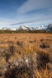Fall scene in the Alps, no people around Stock Images