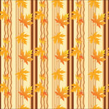 Fall seamless background Stock Photos