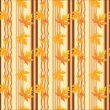 Fall seamless background. Vector illustration Stock Photos