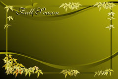 Fall season background Royalty Free Stock Photos