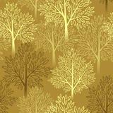 Fall season background. Autumn tree seamless Royalty Free Stock Image