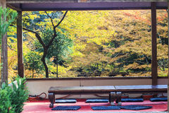 Fall season of Jingo-ji, kyoto, Japan Royalty Free Stock Image