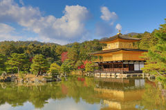 Fall season of Kinkaku-ji Zen Buddhist temple Stock Images