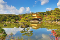 Fall season of Kinkaku-ji Zen Buddhist temple Stock Photo