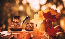 Fall season still-life Stock Images