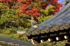 Fall season in Tofukuji Temple Royalty Free Stock Photos