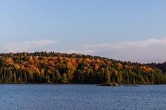 Fall See im Algonquin-Park stockfotografie
