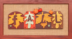 Fall Sign Royalty Free Stock Photo