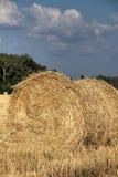 Fall. Slanted field. Royalty Free Stock Photo