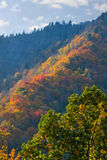 Fall Smoky Mountains Royalty Free Stock Photos