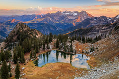 Free Fall Splendor Landscape In The Wasatch Mountains. Royalty Free Stock Images - 78126029