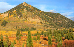 Fall splendor in the Uinta Mountains. Stock Photography