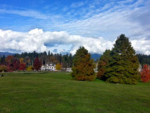 Fall in stanley park. The afternoon Royalty Free Stock Images