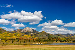 Fall in Steamboat Springs Colorado Stock Image