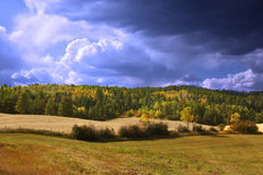 Fall Storm royalty free stock photo