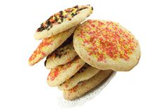 Fall Sugar Cookies Royalty Free Stock Images