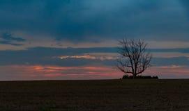 Fall Sunrise on the Eastern Plains of Colorado stock photos