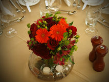 Fall table setting Stock Photos