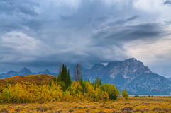 Fall in the Tetons Stock Photo