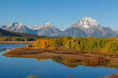Fall in the Tetons Stock Photography