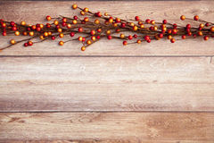 Fall Thanksgiving Background. With leaves Royalty Free Stock Image