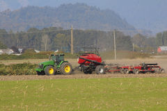 Fall Tillage and Equipment Royalty Free Stock Images