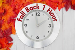 Fall Time Change Royalty Free Stock Photos