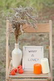 Fall time decorate Stock Images