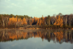Fall in Tomahawk, Wisconsin Stock Photos