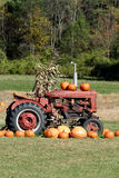 Fall Tractor Stock Images