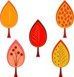 Fall Tree Illustrations Royalty Free Stock Photos