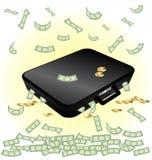 Fall und Geld Lizenzfreie Stockfotografie