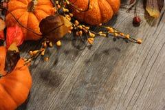 Fall und Halloween-Hintergrund Lizenzfreie Stockfotografie